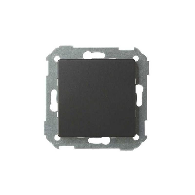 Tapa ciega ancha grafito Serie 82 Simon 82800-38