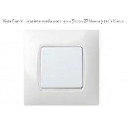 Pieza Intermedia Blanco Nieve 27900-32 Simon 27