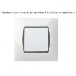 Pieza Intermedia Gris 27902-32 Simon 27