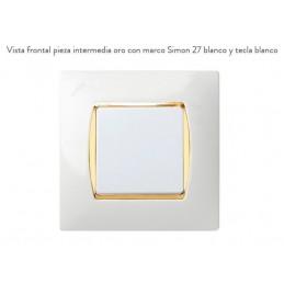 Pieza Intermedia Oro 27906-32 Simon 27