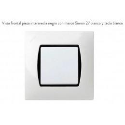 Pieza Intermedia Negra 27907-32 Simon 27