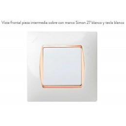 Pieza Intermedia Cobre 27914-32 Simon 27