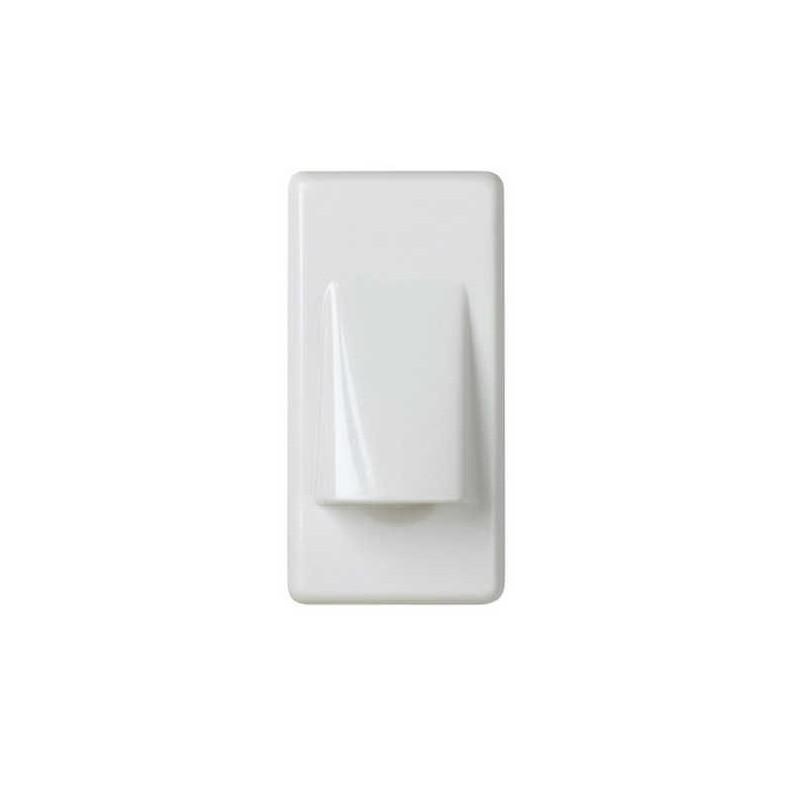 Salida de cables estrecha blanca Simon 27801-34