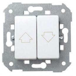 Grupo 2 pulsadores persiana sin enclavamiento blanco Simon 27396-65