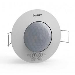 Detector movimiento esclavo DM SEN T03 techo 360º 230V 6 metros Dinuy