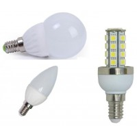 Bombillas LED 230V E14